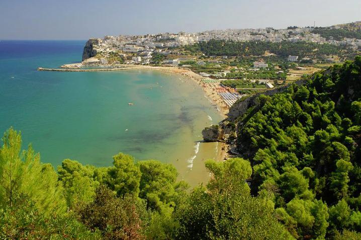 Vacanze in gargano a vico del gargano spiagge e trabucchi for Citta da visitare in puglia