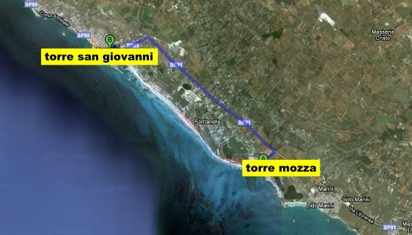 Mappa Puglia Ugento.Le Spiagge Del Salento A Torre San Giovanni Ugento The Puglia Immobiliare