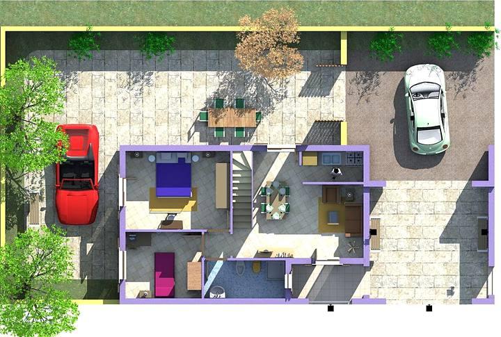 Ville di nuova costruzione in vendita a santa caterina for Produttore di piano terra del punto vendita