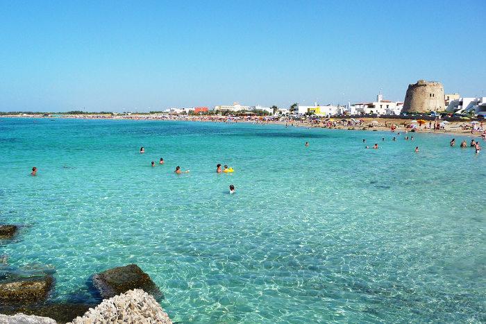 Spiagge belle del Salento: Torre Mozza a Ugento