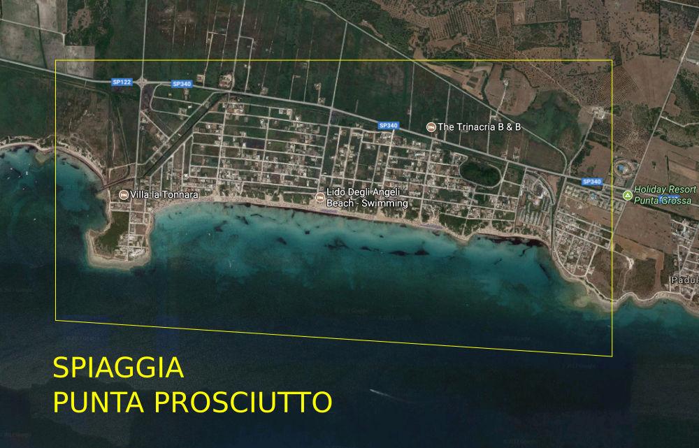 Porto Cesareo Puglia Cartina.Dove Trovo Le Spiagge Belle A Porto Cesareo Torre Lapillo O Punta Prosciutto The Puglia Immobiliare