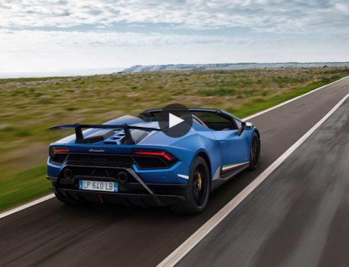 Lo spot pubblicità di Lamborghini Huracan girato nel Salento