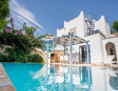 Villa con piscina in Puglia, a pochi passi dal mare